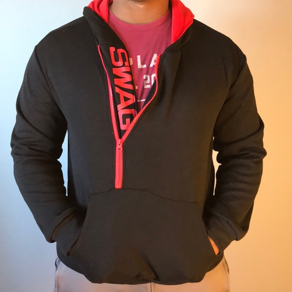 Men s Swag hooded pullover sweatshirt Size XXL 2dc9cb4907905